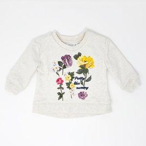 Koala Kids   Baby Girl Long Sleeve Shirt 3-6 Month